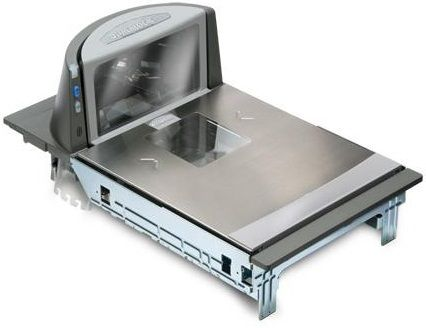 MAGELLAN 8300 SCANNER, SHORT PLATTER, DLC GLASS, SHELF MOUNT  IN CPNT