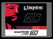 KINGSTON 120GB SSDNow KC300 SSD SATA3 2.5 (7mm height) w/Adapter