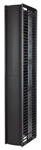 "APC Valueline,  Vertical Cable Manager for 2 & 4 Post Racks, 84""""""""H X 12""""""""W, Double-Sided with Doors"""" (AR8775)"
