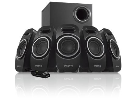 CREATIVE A550 5.1 PC Speaker With Cabel