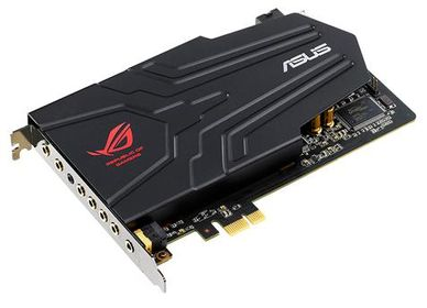 ROG Xonar Phoebus Solo PCIe-x1,  118dB SNR, Headphone Amplifier,  EMI Shielding