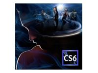 CS6 Production Premium - 6 - Multiple Platforms - International English - AOO License - 1 USER - 1+ - 0 Months