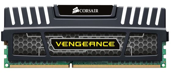 Vengeance™ DDR3 1600MHz 8GB CL10 1x 8GB XMS3 modules, CL10-10-10-27,  Core i7/ i5/ Core 2, 1.5V