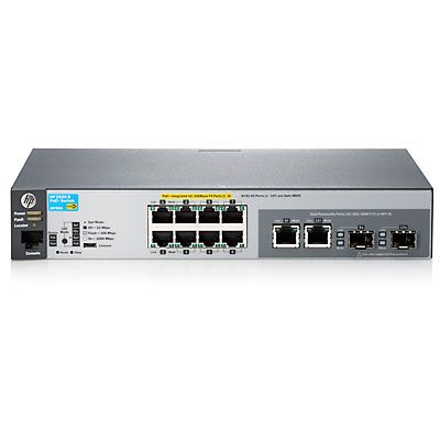 2530-8 POE+ Switch