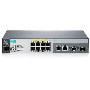 Hewlett Packard Enterprise 2530-8-PoE+ Switch
