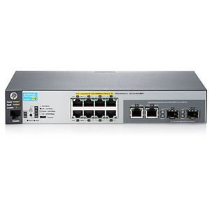 Hewlett Packard Enterprise 2530-8G-PoE+ Switch