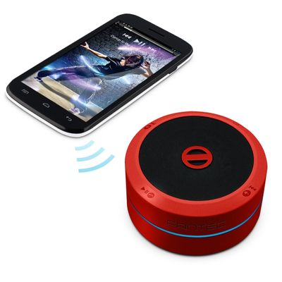 PS21BT-RD red Mobile Bluetooth Speaker