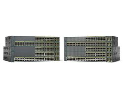 CISCO Catalyst 2960 Plus 48 10/100 PoE + 2 100 (WS-C2960+48PST-L)