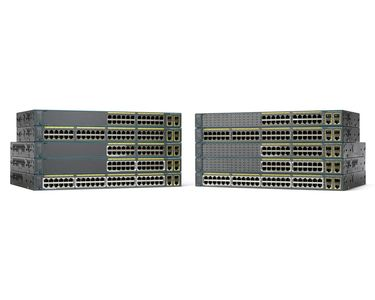 CISCO Catalyst 2960 Plus 24 10/100 + 2T/SFP LAN Base (WS-C2960+24TC-L)