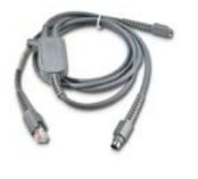 PC WEDGE CABLE PS2 Y CONN. 6.5 FT