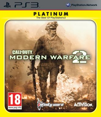 CALL OF DUTY :MODERN  WARFARE 2 PLATINUM - PS3