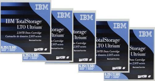 IBM Ultrium 6 Data Cartridges 5-Pack  (35P1902)