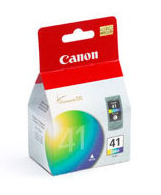 CANON CL-41 COLOUR INK BLISTER W/SEC COLOUR INK CARTRIDGE (0617B032)