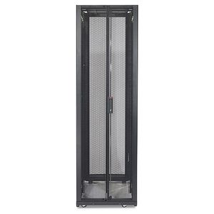 APC NetShelter SX 48U 750mm Wide x 1200mm Deep Enclosure Without Sides Black (AR3357X609)