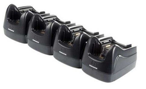 Datalogic Lynx Dock, Multi charger only. 4 terminals & 4 batteries.Power supply incl.Order power cor
