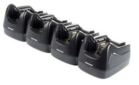 Lynx Dock, Multi charger only. 4 terminals & 4 batteries.Power supply incl.Order power cor