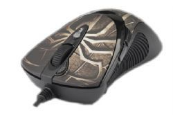 Maus LASER WIRED Gamer 7 Tasten XL-747H schwarz USB