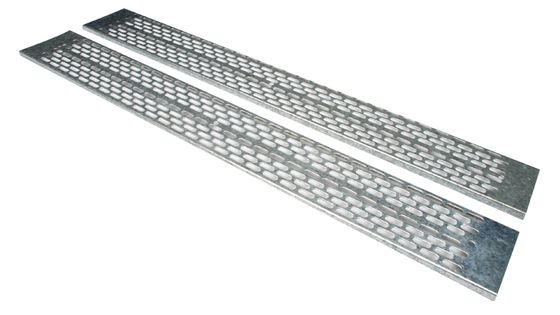 42U CABLE TRAY F.VERTICAL INST VENTED GALVANIZED RACK