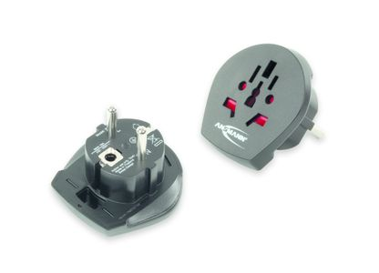 ANSMANN Travel Plug World to EU (1250-0000)