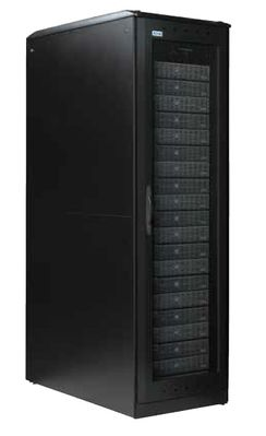IT Rack RP 42U 600 1200 with pull handle, side divider & leveling feet