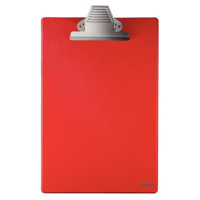 Clipboard without front cover A4 red Esselte