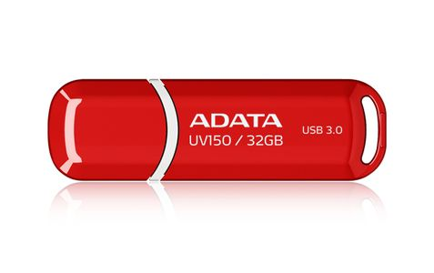 A-DATA USB 32GB 20/90 UV150 rd U3 ADA (AUV150-32G-RRD)