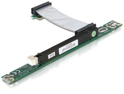 Riser Card PCIe x1 -> x16 flexibles Kabel