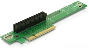 Riser Card PCI Express x8 Angled 90° Left insertio