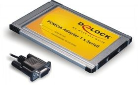 PCMCIA Adapter, PC Card to 1 x Serial - Serieller