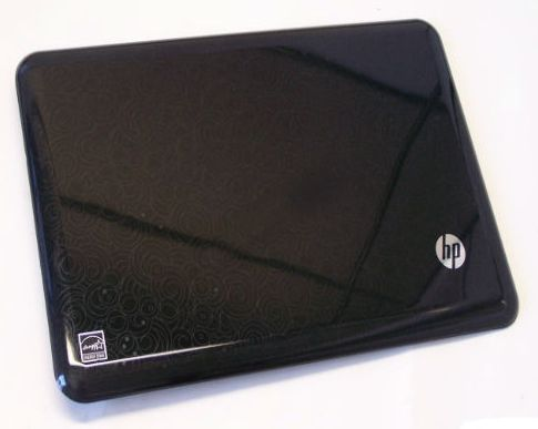 LCD BACK COVER, BLK, HP