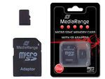 SD MicroSD Card 8GB SDHC Cl.4 inkl. Adapter