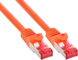 1m Cat.6 Patchkabel 1000 Mbit RJ45 - orange