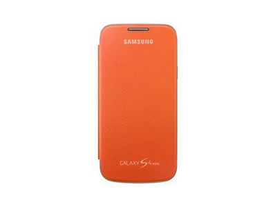 SAMSUNG Flip Cover - GS4 Mini -Orange (EF-FI919BOEGWW)