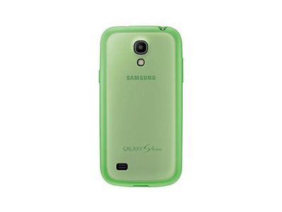 SAMSUNG Protective Cover+-GS4 Mini- Yellow Green (EF-PI919BGEGWW)