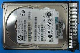 Hewlett Packard Enterprise 450GB hot-plug dual-port SAS hard drive - 10,000 RPM (653956-001)