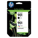 HP INK CARTR901 CMY + 901 BLACK XL . SUPL