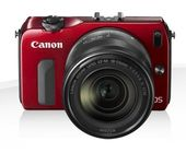 CANON EOS M 18-55IS STM / 90EX  Red
