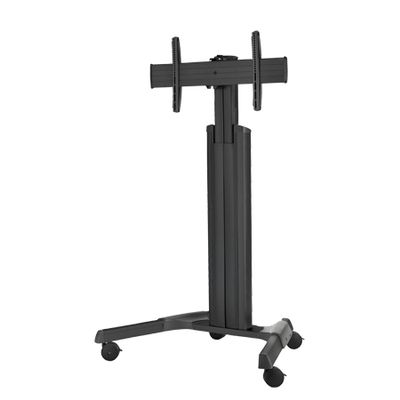 FLAT PANEL MOBILE CART PRO BLACK