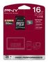 PNY MICRO SD HIGH PERFORMANCE 16GB CLASS 10 R 50MB/S W 20MB/S       IN MEM