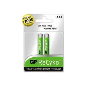 GP NiMH Rechargeable Battery R03 Size AAA 1, 2V/ 850mAh **2-pack** (85AAAHCB U2) (201071)
