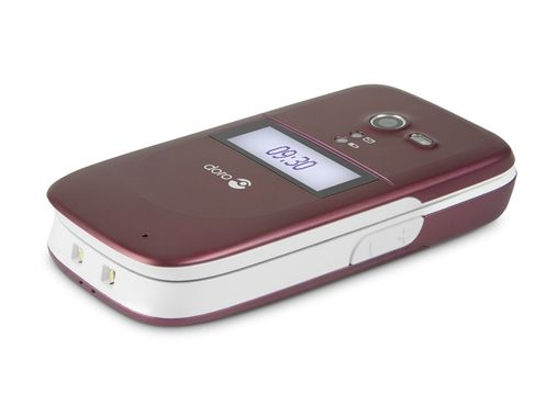 PhoneEasy 622 Burgundy-White