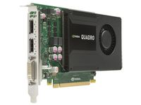 NVIDIA QUADRO K2000 2GB X DVI-I DUAL LINK AND 2X DP IN