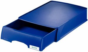 Letter tray drawer unit Plus A4/ Oversize A4 blue Leitz 5210