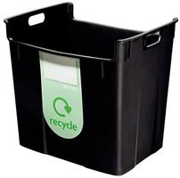 Waste bin Basko 40L black