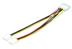 LOGILINK Power Cable, internal, 5,25 M - 2x3,5 F (CP0002)