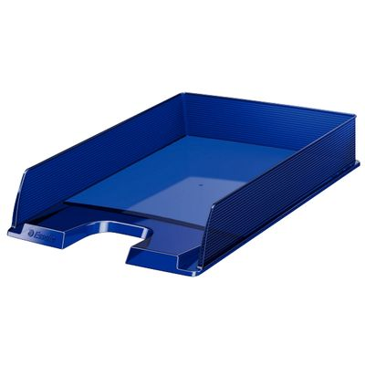 Letter tray Europost translucent dark blue ** NEW **