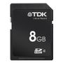 TDK TDK SDHC Travelcard SecureDigital HC Car, 8GB Class 4