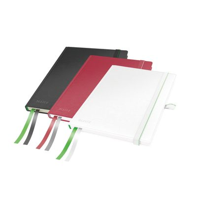 COMPLEET NOTEBOOK LEITZ HARDBACK A5 RULED ASSORTMENT