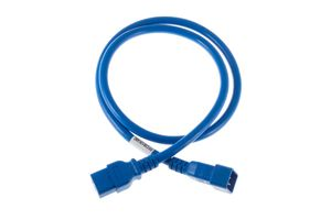 POWER CORD 16A IEC320 C19->16A CEE BLUE NS