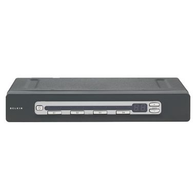 4-PORT ADMIN KVM SWITCH PS2 IN & PS2 OUT IN